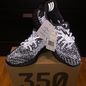 Adidas Yeezy Boost V2 350 Black Reflective Size 5